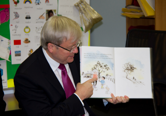 'With Nan' is the Prime Minister's Chosen Read Aloud