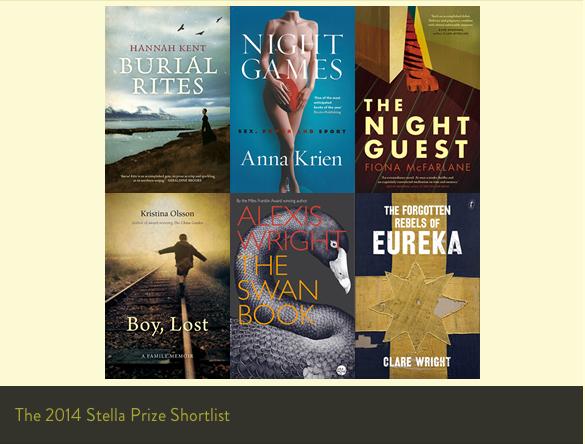 Stella Prize 2014 Shortlist