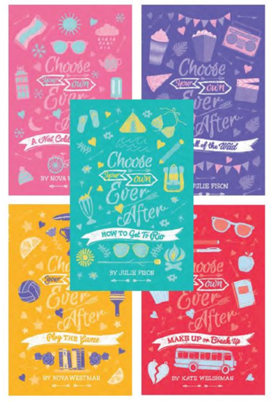 Choose Your Own Ever After Series wins Best Designed Children's / Young Adult Series for ADDA awards!