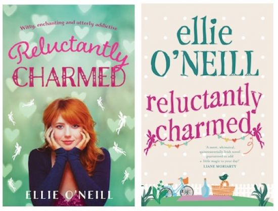 B-format edition of 'Reluctantly Charmed' out in Nov!