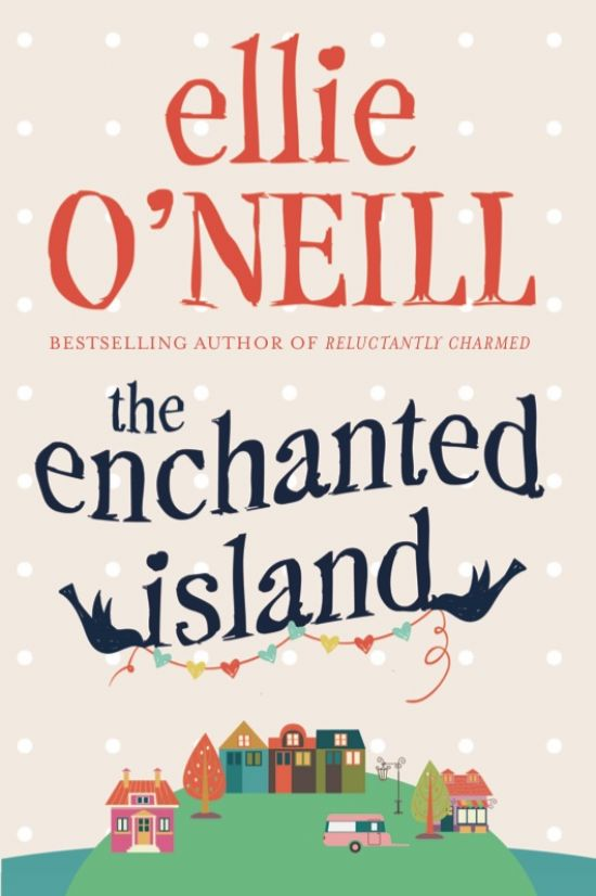 Sneak preview of the 'The Enchanted Island' Cover design