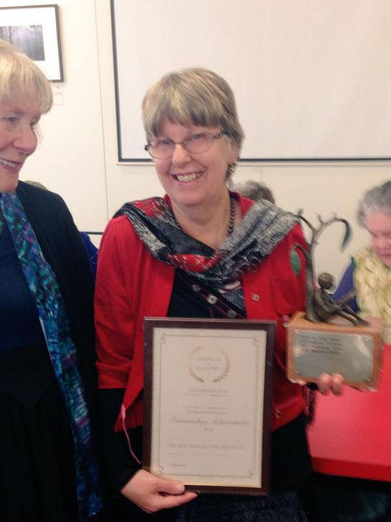 Rosanne Hawke Wins the Nance Donkin Award presented by The Society of Women Writers.