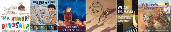 Congratulations to the CBCA notable award winners
