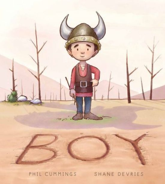 "A thoughtful three-and-a-half star review for Phil Cumming's picture book ""Boy"""