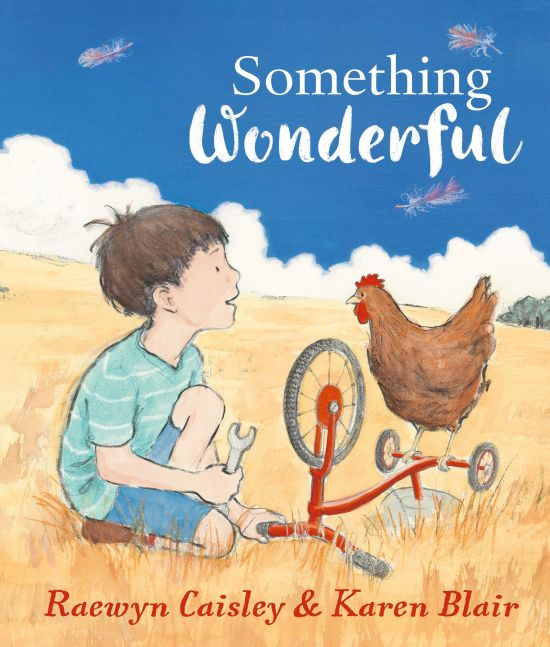 Something Wonderful shortlisted for the 2017 Patricia Wrightson Prize for Children's Literature Award
