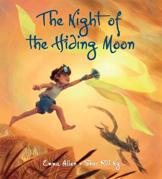 The night of the hiding moon book cover