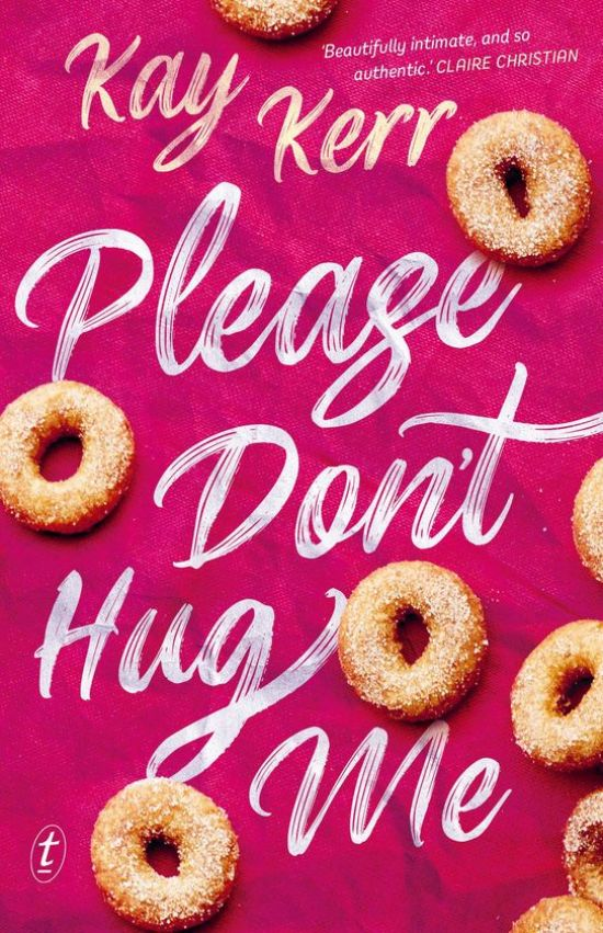 Please don't hug me book cover