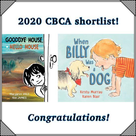 JdM creators on 2020 CBCA shortlist!