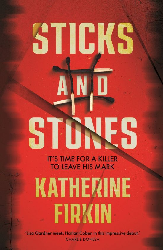 Sticks and stones book cover