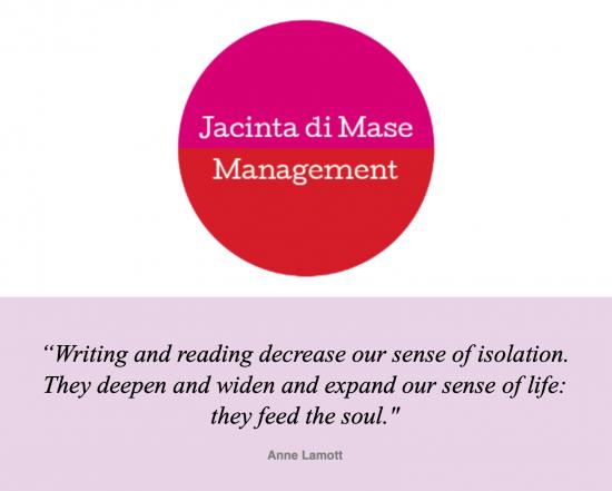Jacinta di Mase Management July - August Newsletter