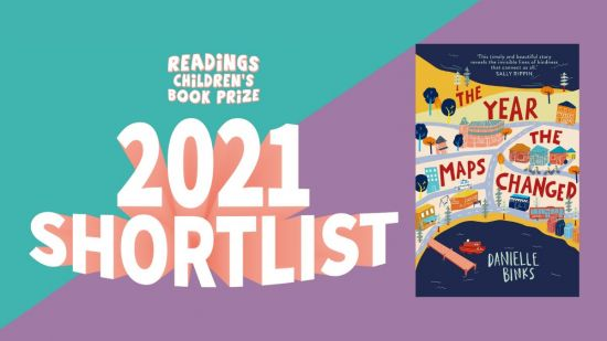 'The Year the Maps Changed' shortlisted in 2021 Readings Children's Book Prize