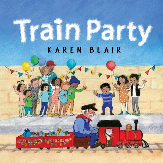 'Train Party' by Karen Blair