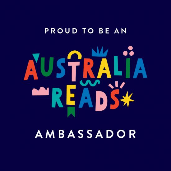 JDM authors are Australia Reads Ambassadors