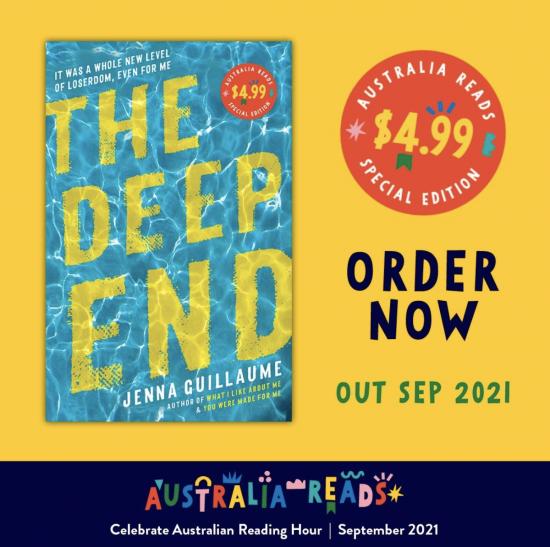 Jenna Guillaume to release Australia Reads novella