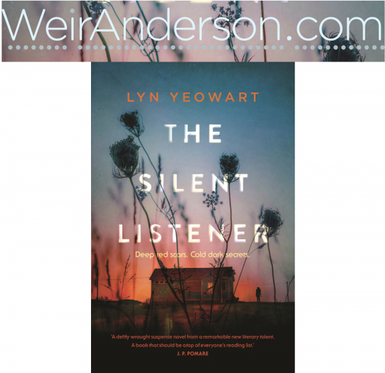 'The Silent Listener' has been optioned for screen by Deanne Weir of WeirAnderson Films