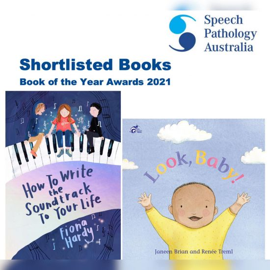 Brian and Hardy shortlisted in Speech Pathology Awards