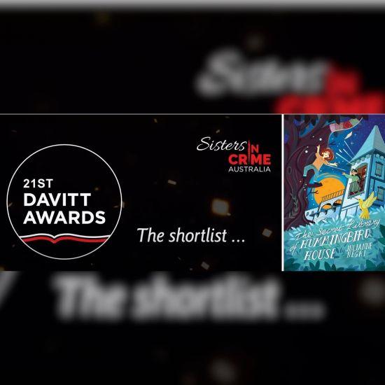Julianne Negri shortlisted in the Davitt Awards