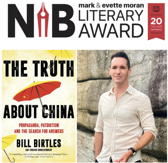Bill Birtles Longlisted for the Nib Award!
