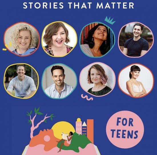 JDM authors for Australian Reading Hour – Stories that Matter for Teens