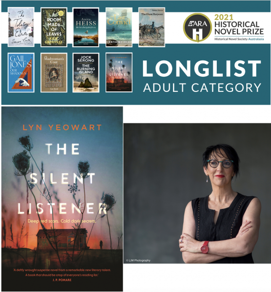 Lyn Yeowart longlisted in Historical Novel Prize!